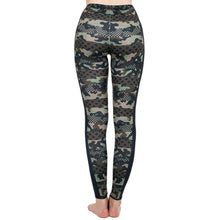 Load image into Gallery viewer, Camouflage Printing High Waist Women Leggings