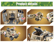 Load image into Gallery viewer, WW2 Military LCM3 Landing Ship Building Blocks Toy 464 pcs + 4 dolls