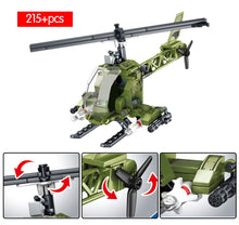 Load image into Gallery viewer, WW2 Military Army Series Building Blocks Toy 855 pcs + 4 dolls