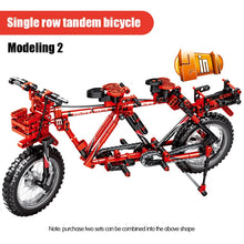 Load image into Gallery viewer, Bicycle Mountain Bike 2 in 1 Building Blocks Toy 612 pcs