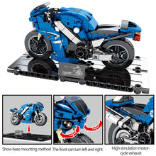 Load image into Gallery viewer, Motorbike Model 1 Building Blocks Toy 301 pcs