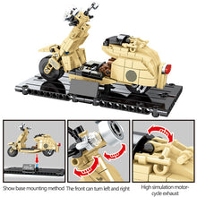 Load image into Gallery viewer, Motorbike Model 3 Building Blocks Toy 256 pcs