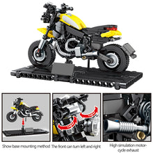 Load image into Gallery viewer, Motorbike Model 4 Building Blocks Toy 270 pcs