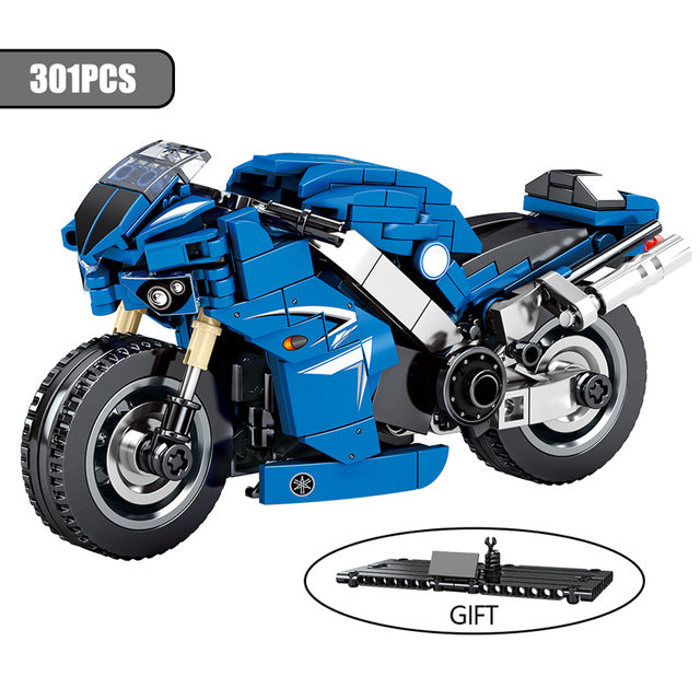 Motorbike Model 1 Building Blocks Toy 301 pcs