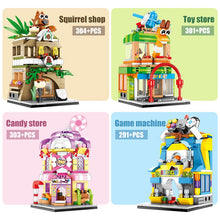 Load image into Gallery viewer, Candy Shop Retail Store Building Blocks Toy 303 pcs