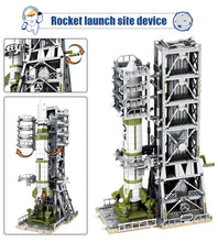 Load image into Gallery viewer, Aviation Rocket Satellite Launcher Model 1 Building Blocks Toy 1627 pcs + 6 dolls