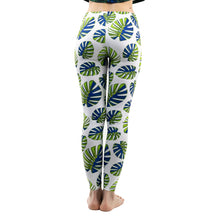 Load image into Gallery viewer, Green Leaves Pattern Printing High Waist Women Leggings