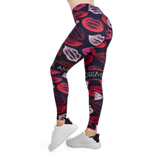 Load image into Gallery viewer, LIPS Printing High Waist Women Leggings