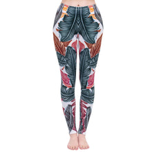 Load image into Gallery viewer, Cool Leaves Printing High Waist Women Leggings