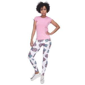 Fruit Printing High Waist Women Leggings