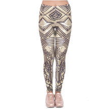 Load image into Gallery viewer, Ancient Dwarf Printing High Waist Women Leggings
