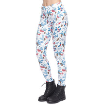 Load image into Gallery viewer, Christmas Forest Printing High Waist Women Leggings