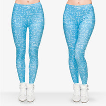 Load image into Gallery viewer, Mathematics 3D Printing High Waist Women Leggings
