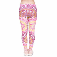 Load image into Gallery viewer, Mandala Mint Printing High Waist Women Leggings