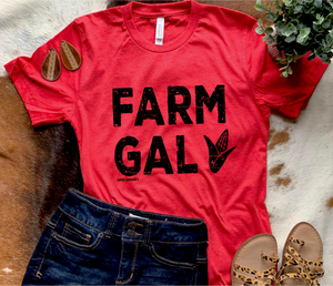 Farm Gal Graphic Tee