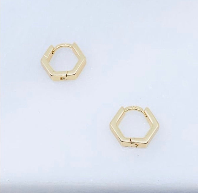 Mini Hex Hoops