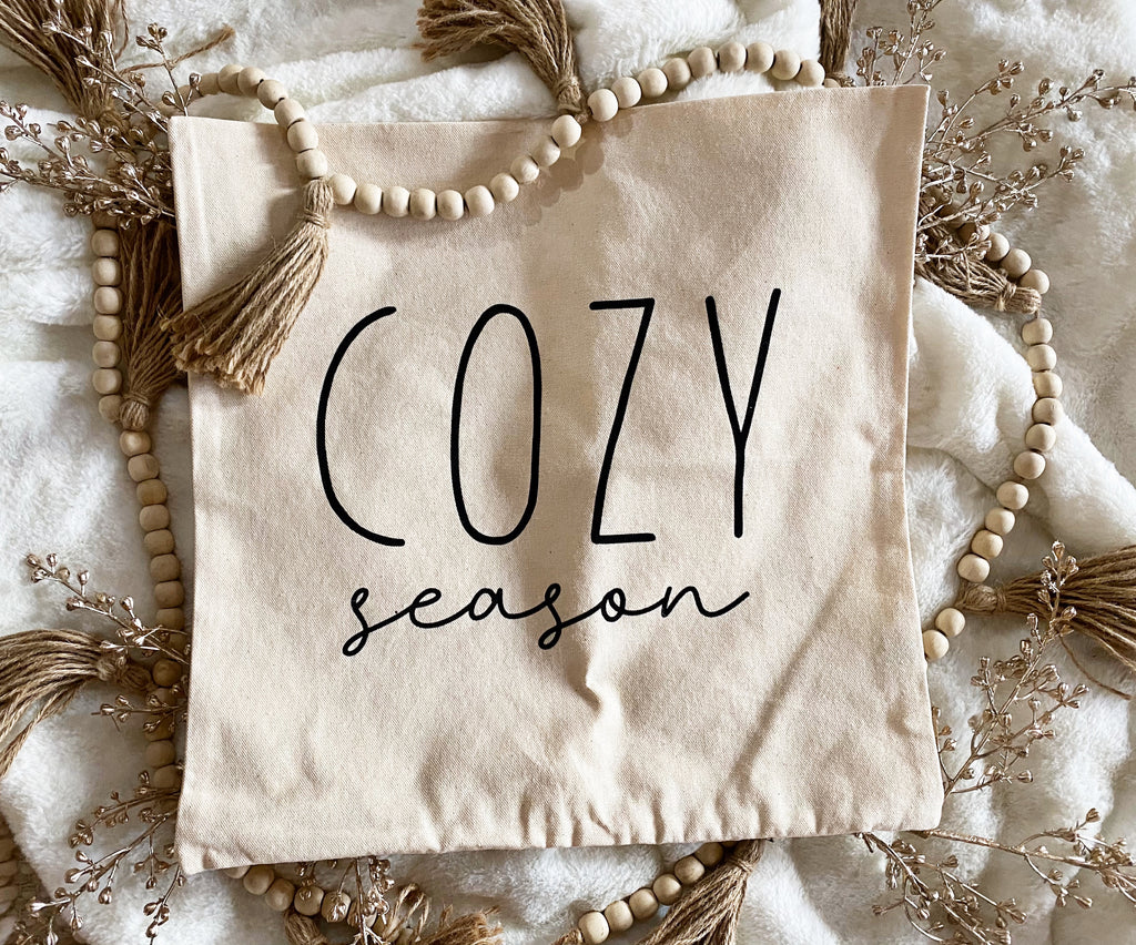 *DOORBUSTER* Cozy Season Pillow Cover