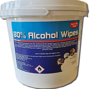 80% Alcohol Wipes