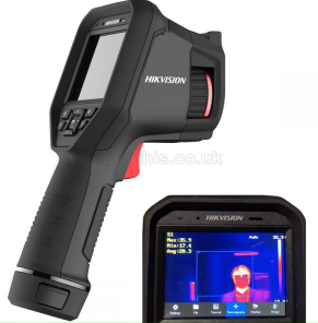 Handheld non-contact body temperature thermal camera