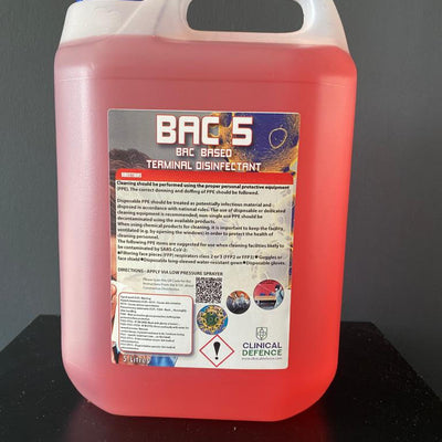 BAC 5 Antibacterial Surface Disinfectant
