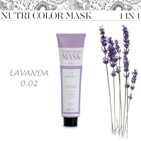 Nutri Color Mask 4 in 1  - Lavanda 0.02 - 120 ml DESIGN LOOK - Vip Coiffeur