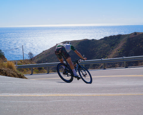 Malibu Descent on a Road Bike with Lead Out!