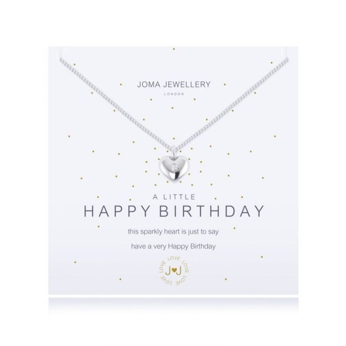 a little HAPPY BIRTHDAY - necklace