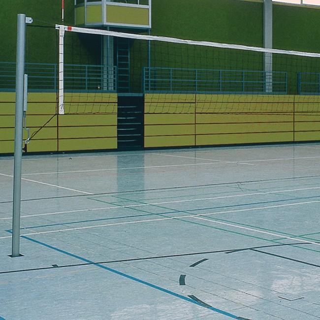 Volleyball Netzpfosten Training rund