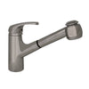Marlin Single Hole/Single Lever Handle Kitchen Faucet with Pull Out Spray Head - AlternativeRoute
