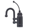 Baby Horizon Single Handle Entertainment/Prep Faucet with Curved Extended Stick Handle and Curved Swivel Spout - AlternativeRoute