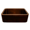 Copperhaus Rectangular Undermount Sink with Smooth Front Apron - AlternativeRoute