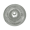 "Decorative Round Floral Pattern Drop-in Basin with Overflow and a  1 1/4"" Center Drain - AlternativeRoute"