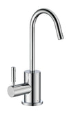 Point of Use Instant Hot Water Faucet with Contemporary Spout and Self Closing Handle - AlternativeRoute