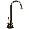 Point of Use Instant Hot Water Faucet with Gooseneck Spout and Self Closing Handle - AlternativeRoute