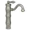Vintage III Single Hole/Single Lever Elevated Lavatory Faucet with Traditional Spout - AlternativeRoute