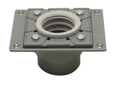 ALFI brand ABDB55 PVC Shower Drain Base with Rubber Fitting - AlternativeRoute