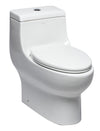 EAGO TB358 Dual Flush One Piece Elongated Ceramic Toilet - AlternativeRoute