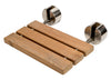 ALFI brand ABS16R 16 Inch Folding Teak Wood Shower Seat Bench - AlternativeRoute