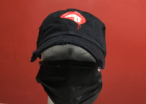 Bite The Blade Dad Cap