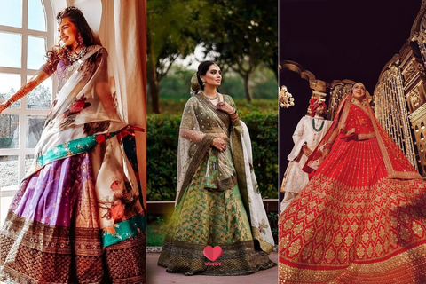 Your Dream Sabyasachi Lehengas Priced Below 5 Lakhs!