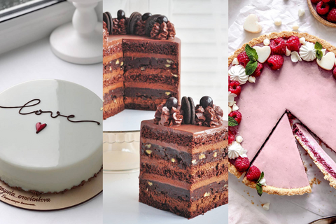 These Exquisite Cakes Make For Perfect Intimate Wedding Desserts!