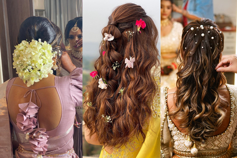 Top 81+ Indian Bridal Hairstyles To Bookmark Right Away!