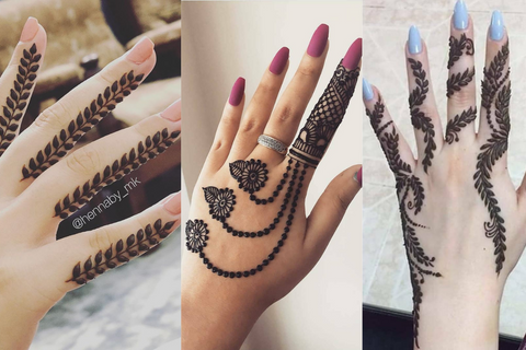 51+ Finger Mehndi Design Ideas In 2020!