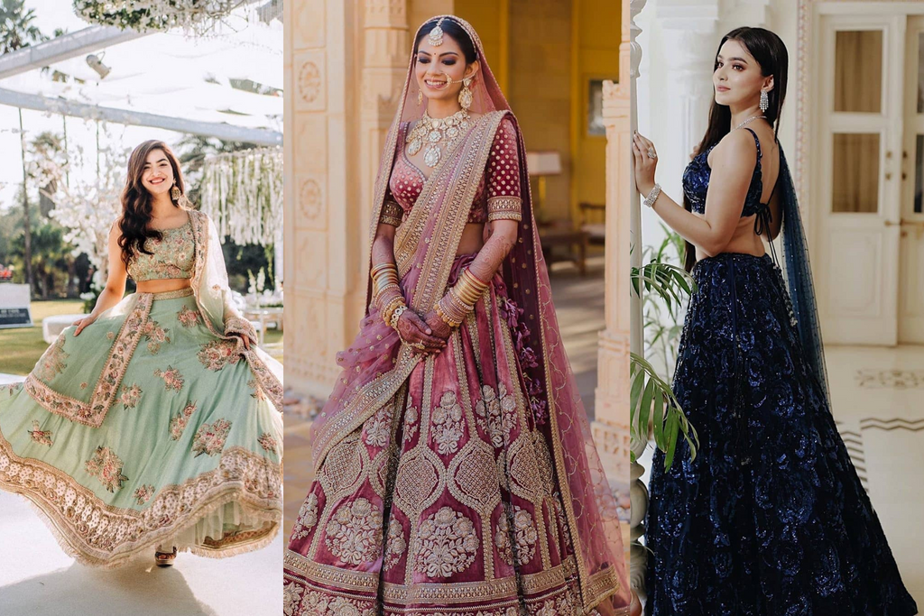 20 New Lehenga Colors For The 2020/2021 Brides!