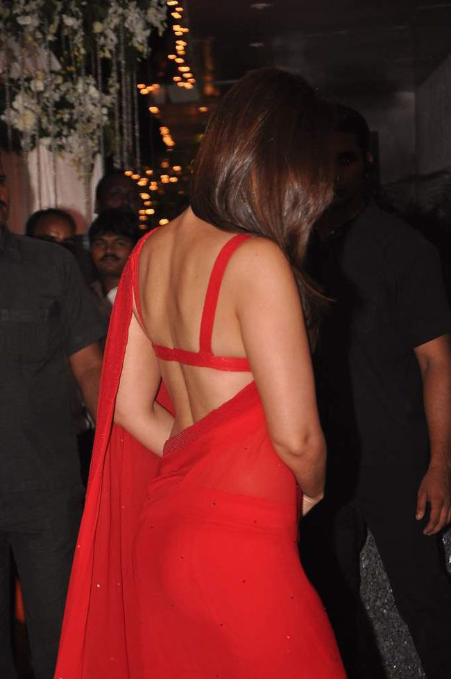 Kareena Red Saree After Wedding