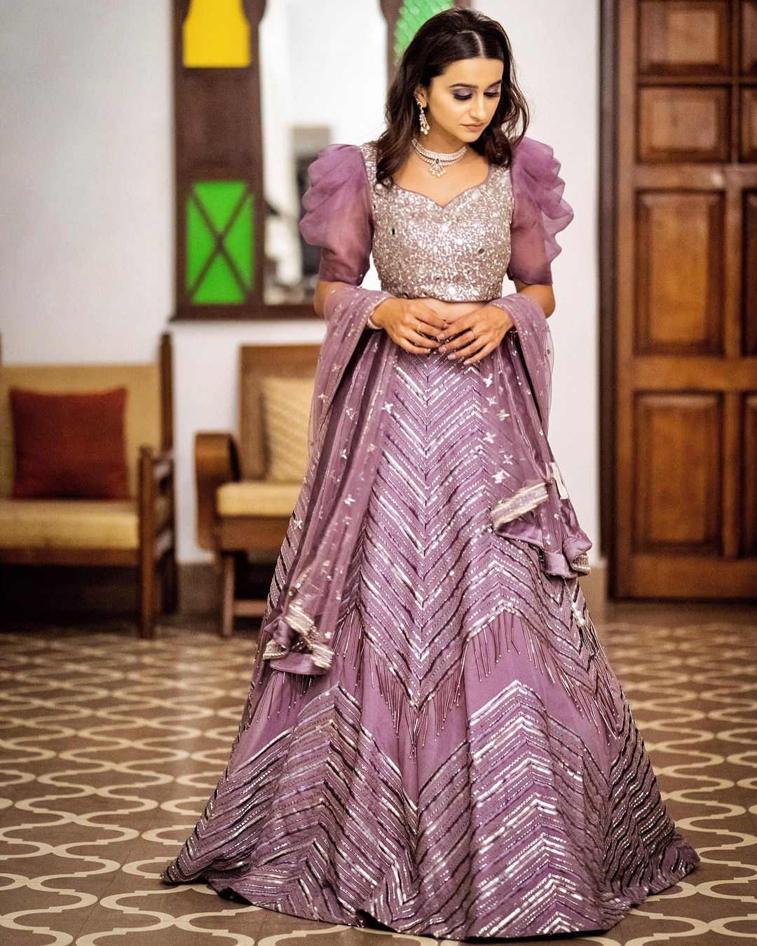 Mirror Work Lehenga Yoshita Couture