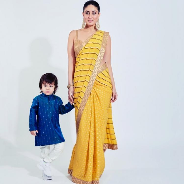 Kareena Yellow Saree Armaan's Wedding