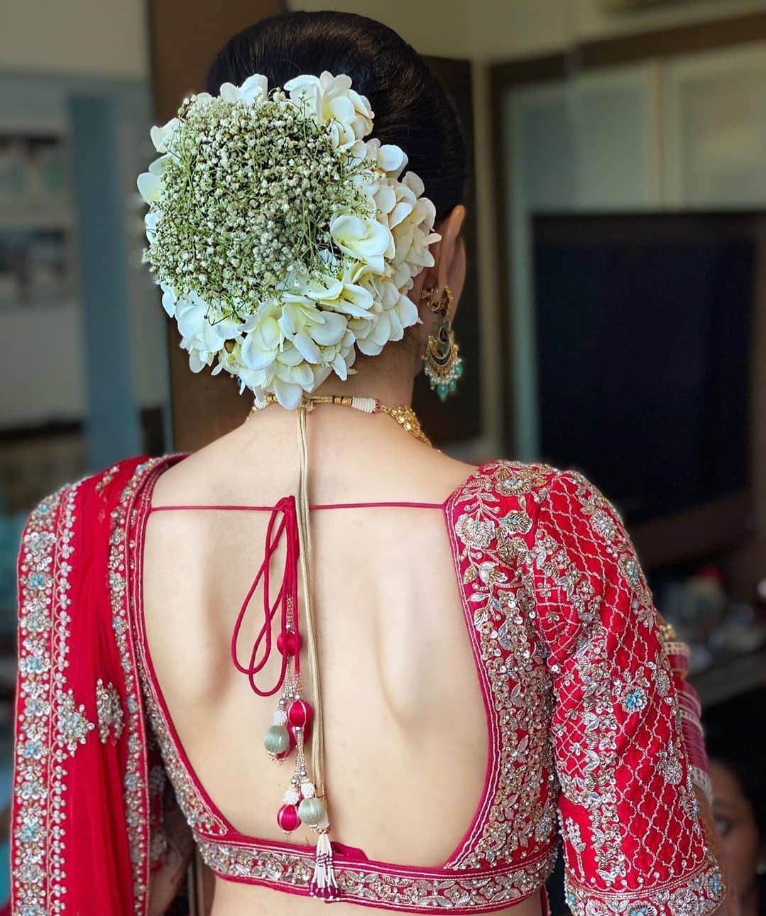 Backless Blouse Design