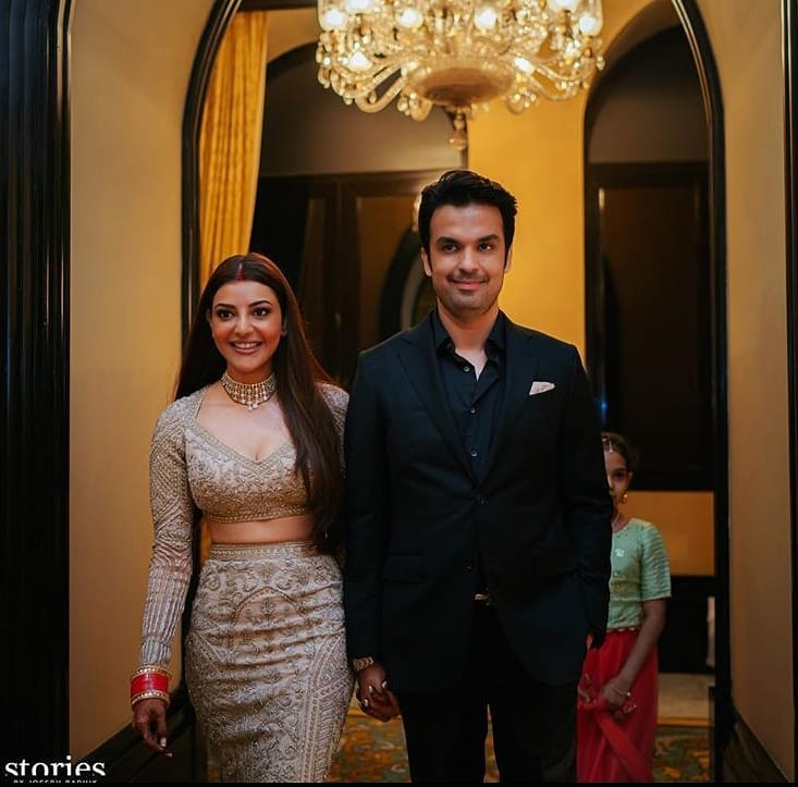 Kajal Aggarwal Reception