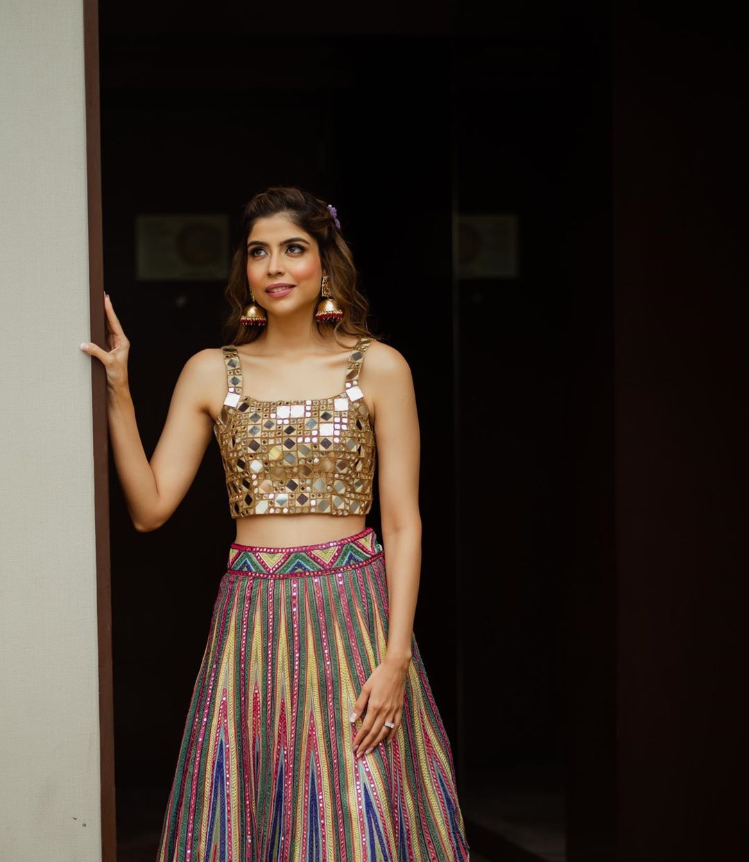 Metallic Lehenga Color
